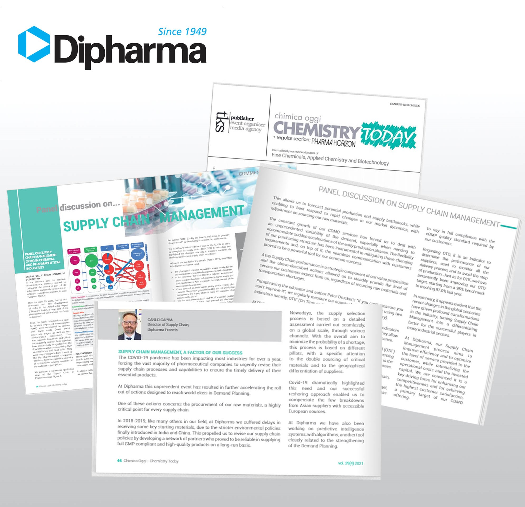 Supply Chain Management, <br/>our article published on Chemistry Today